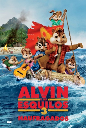 Alvin and the Chipmunks: Chipwrecked 1387x2048
