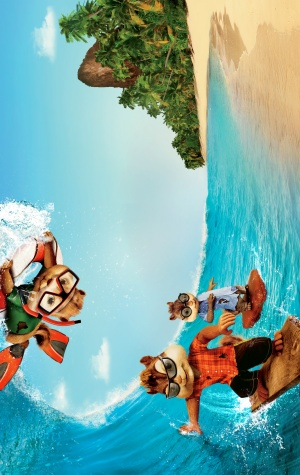 Alvin and the Chipmunks: Chipwrecked Key art