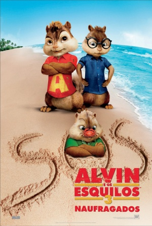 Alvin and the Chipmunks: Chipwrecked 1380x2048