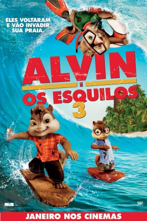 Alvin and the Chipmunks: Chipwrecked 1181x1772