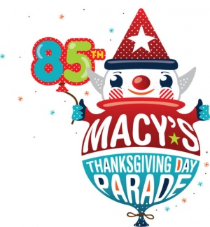 The 85th Anniversary of the Macy's Thanksgiving Day Parade Logo