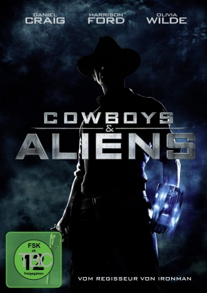 Cowboys & Aliens Dvd cover