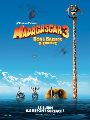 Madagascar 3: Europe's Most Wanted 680x907