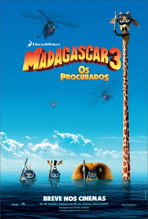 Madagascar 3: Europe's Most Wanted 2392x3546