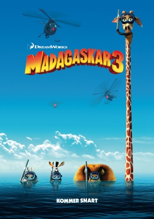 Madagascar 3: Europe's Most Wanted 2457x3508