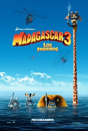Madagascar 3: Europe's Most Wanted 1385x2048