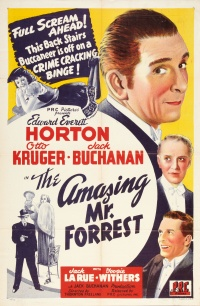The Amazing Mr. Forrest poster