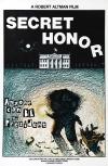 Secret Honor poster