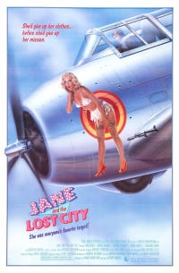 Jane and the Lost City poster