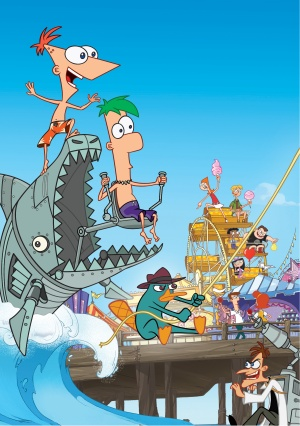 Phineas and Ferb 1594x2266