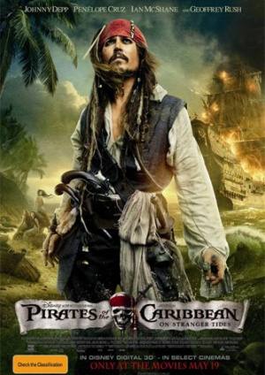 Pirates of the Caribbean: On Stranger Tides 334x472