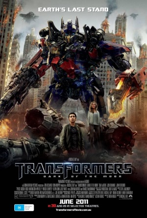 Transformers: Dark of the Moon 600x889