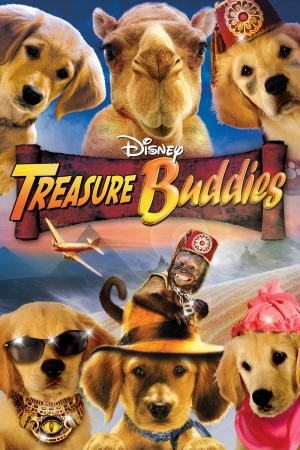 Treasure Buddies Dvd cover