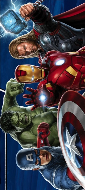 The Avengers 482x1073