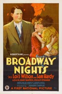 Broadway Nights poster
