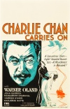 Charlie Chan Carries On Poster