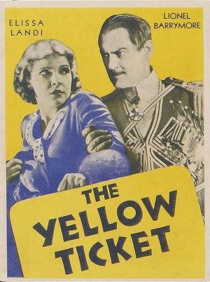 The Yellow Ticket 556x745