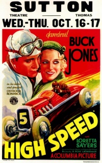High Speed poster