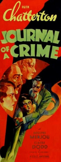 Journal of a Crime poster