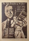 The Man Who Knew Too Much Poster