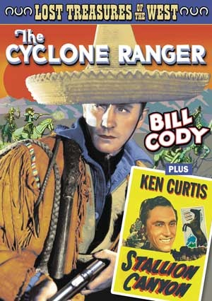 The Cyclone Ranger Dvd cover