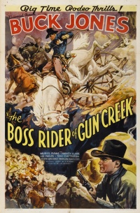 The Boss Rider of Gun Creek poster