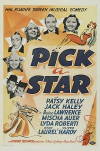 Pick a Star poster
