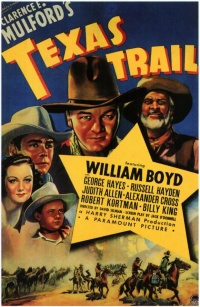 Texas Trail poster
