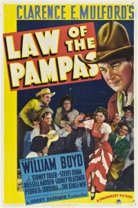 Law of the Pampas poster