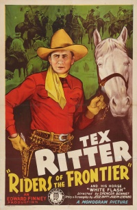 Riders of the Frontier poster