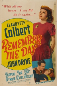 Remember the Day poster