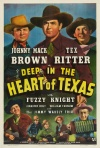 Deep in the Heart of Texas Poster