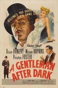A Gentleman After Dark poster