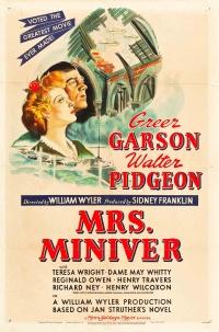 Pani Miniver poster