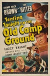 Tenting Tonight on the Old Camp Ground Poster