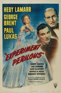 Experiment Perilous poster