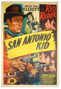 The San Antonio Kid poster