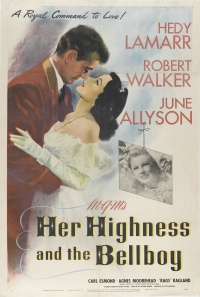 Her Highness and the Bellboy poster