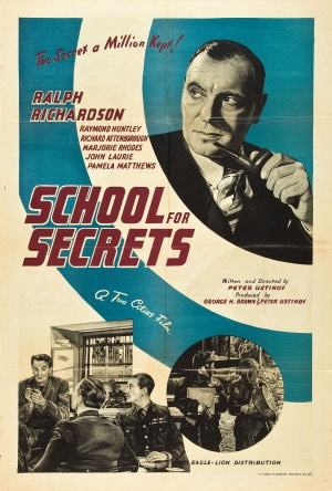 School for Secrets Poster
