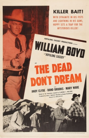 The Dead Don't Dream Poster
