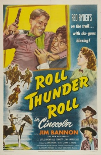 Roll, Thunder, Roll! poster