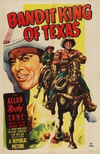 Bandit King of Texas poster