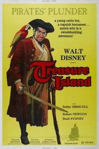 Robert Louis Stevenson's Treasure Island poster