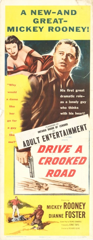 Drive a Crooked Road 500x1289