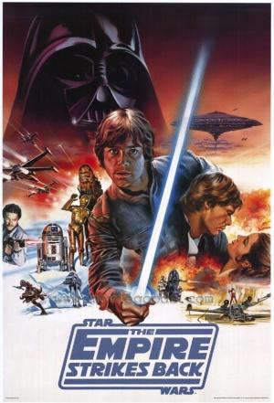 Star Wars: Episodio V - El Imperio contraataca 580x852