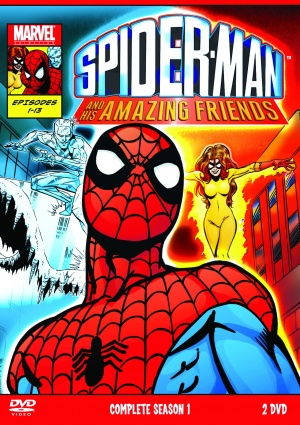 Spider-Man and His Amazing Friends 1527x2161