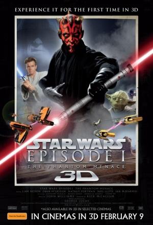 Star Wars: Episodio I - La amenaza fantasma 873x1280