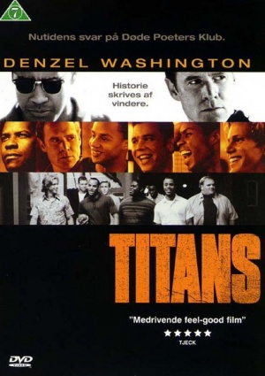 Remember The Titans Dvd cover