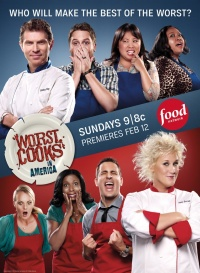 Worst Cooks in America poster