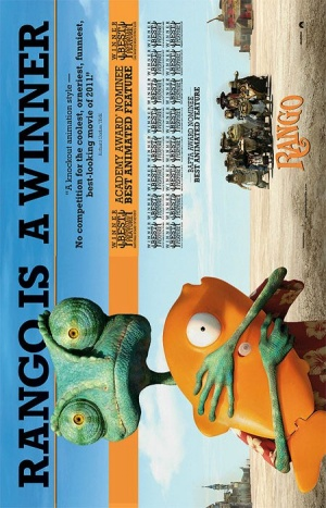 Rango For your consideration poster